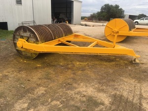 10 x 4 foot stone roller