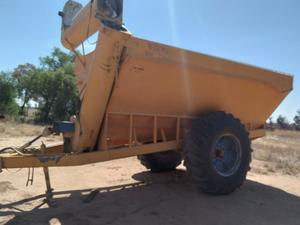 12m/t Weswil Engineering Chaser Bin