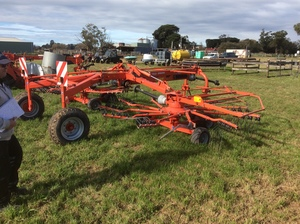 Under Auction - Kuhn GA 7501 Rake - 2% + GST Buyers Premium On All Lots