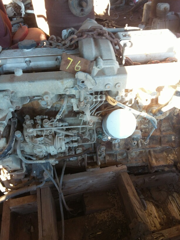 Under Auction - Toyota Motor 1HZ - 2% + GST Buyers Premium On All Lots
