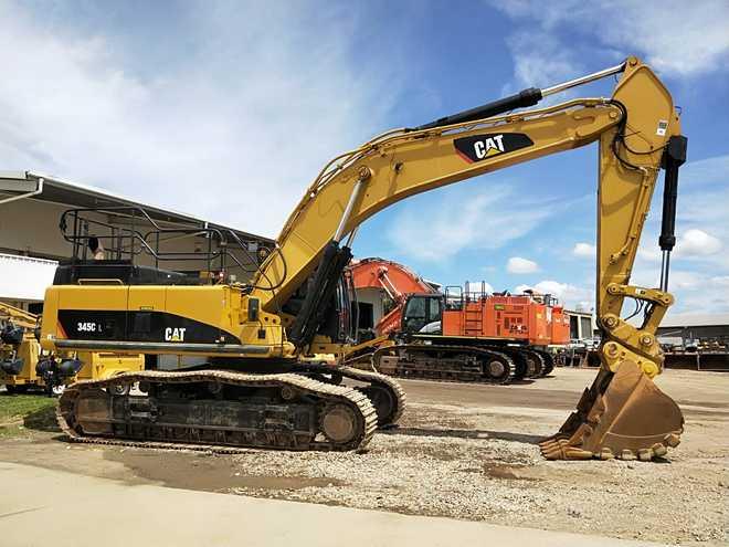 2008 Caterpillar 345CL Excavator