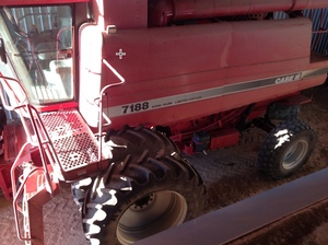 1996 Case IH 2188 with Knuckey Pickup & 2005 Case 39ft Draper Front avaliable