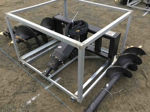 Under Auction - New Auger Drive Set with 3 Augers To Fit - 2% + GST Buyers Premium On All Lots