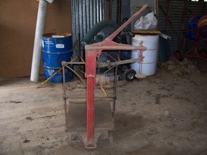 Fairbanks Woolshed Scales