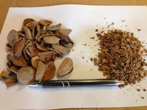 Unmilled or Milled Almond Hulls