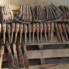 AUsplow DBS Seeder Points, Fert Boots & Closing Tools