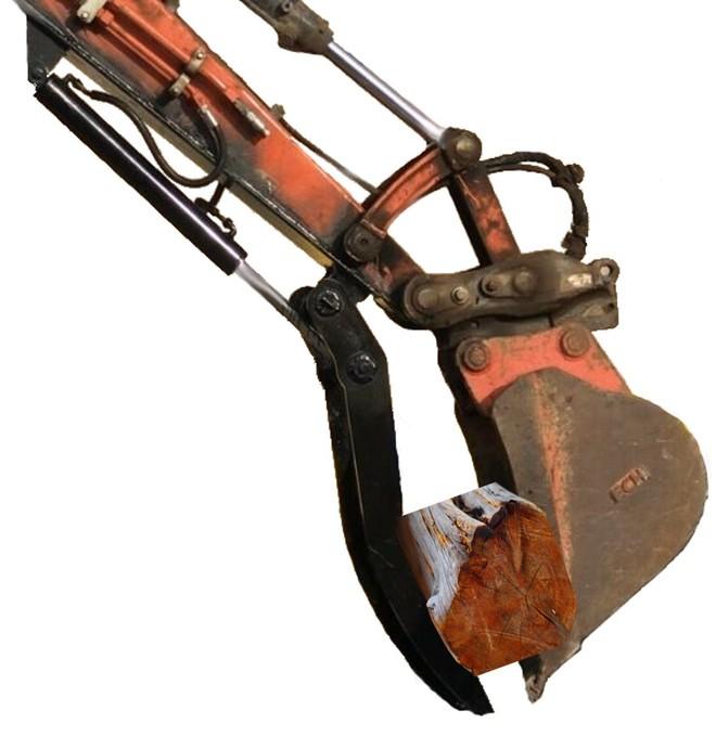 Hydraulic Excavator Thumb 10-12ton