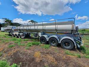 Under Auction - (A122) - B Double Tanker Trailer - 2% + GST Buyers Premium On All Lots