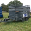 10 x 5 Tandem Trailer With Stock Crate