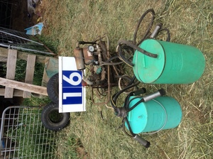 Under Auction - Portable Electric Milking Plant - 2% + GST Buyers Premium On All Lots