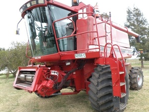 Case 2388 4 Wd Header With 36ft Draper Front
