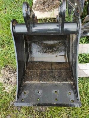 Excavator Scraping Mud Bucket 350mm suits Excavators 1.7-3.5ton
