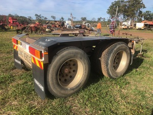 Jamieson Converter Dolly Trailer for sale. Only done a genuine 69000 KM from new.