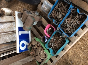 Under Auction - Under Auction (A129) - Villiers Motor Nuts, Bolts and Seeder Gear - 2% + GST Buyers Premium On All Lots