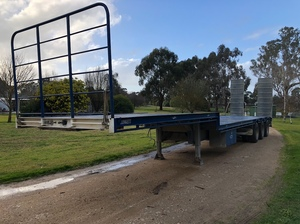 45ft Plunkett Heavy Duty Drop Deck Semi Trailer