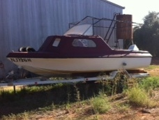 Fishing Boat.### No GST Selling Price $2,500.00 - ONO ###