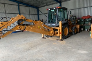 2005 Case Series 2 Backhoe