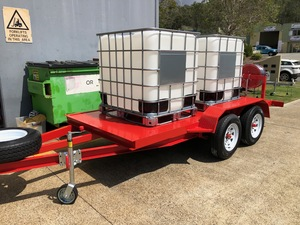 NEW WATER CART TRAILERS - ALL SIZES AVAILABLE - DELIVERY AUST. WIDE