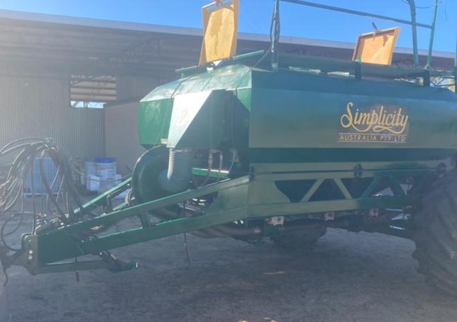 Simplicity 6000 TB2.30 Air Cart