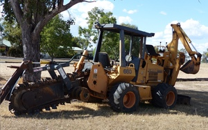 Case 660 Trencher with Backhoe