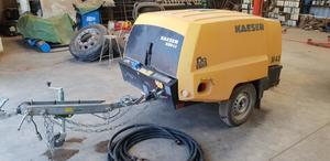 Under Auction - Under Auction (A125) - Kaeser  M43 Portable Air Compressor - 2% + GST Buyers Premium On All Lots