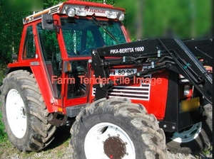Fiat Tractor 80-90/90-90 Or 100-90 With FEL