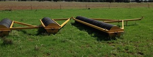 Coolamon Rubber Tyre Rollers