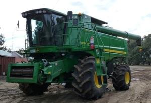 2011 John Deere 9770 Sts Rice Machine.