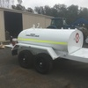 Red Dog 3000 L Contractor Series fuel trailer
