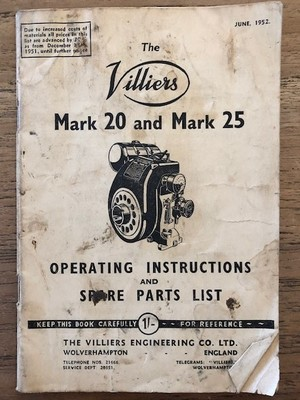 Villiers Motor Vintage