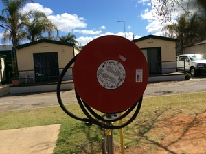 Under Auction - Fire Hose and Reel - Auction on now, ends 19/10/19 at 11 am - 2% + GST Buyers Premium On All Lots