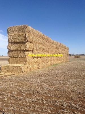 800mt Wheaten & Oaten Hay 8x4x3 Bales